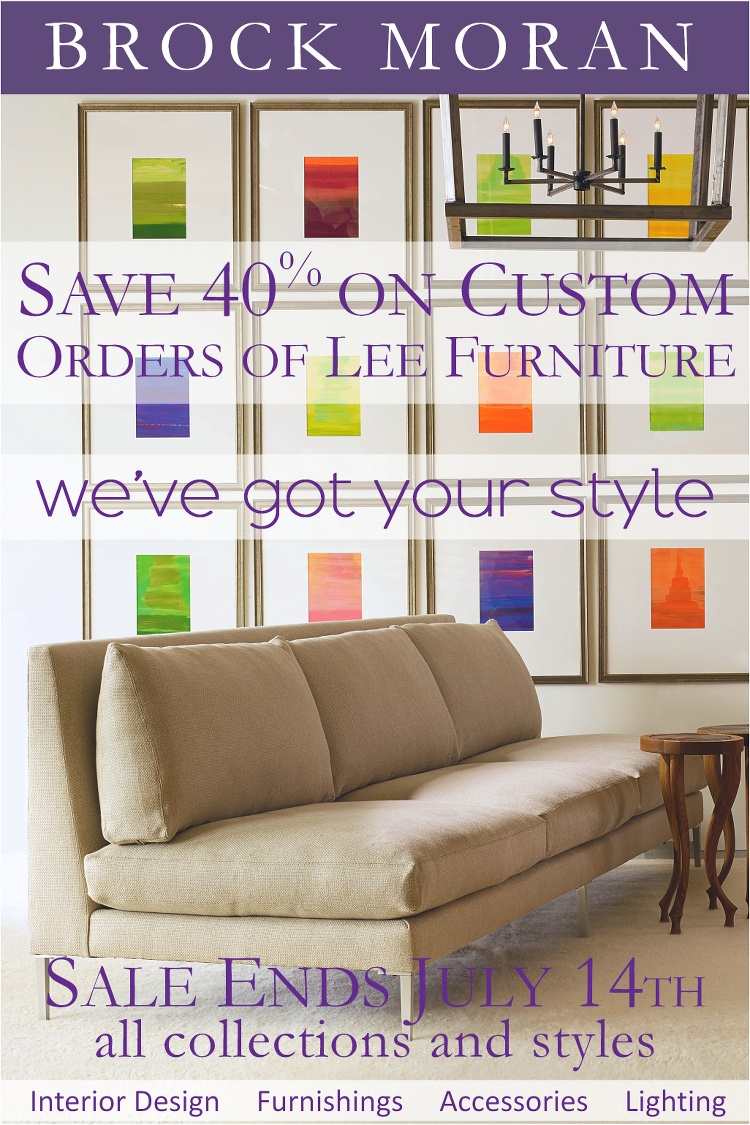 Lee Furniture Sale   Save 40% On Custom Orders Though July 14, 2018